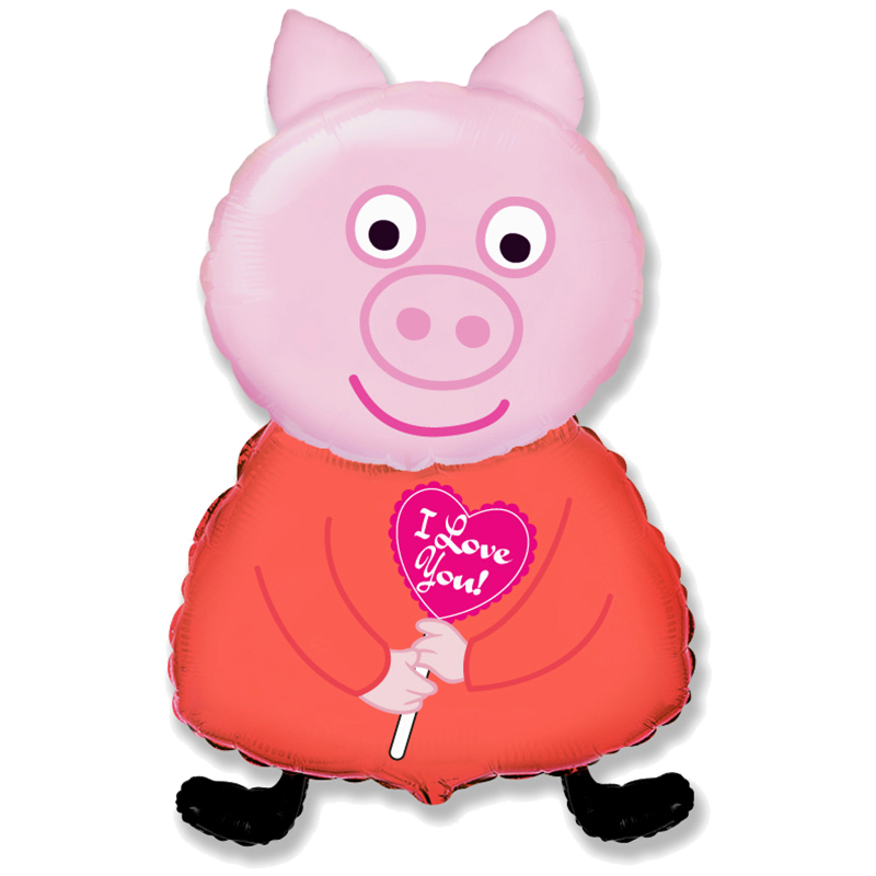 Peppa Pig Balloon Bonfortuno